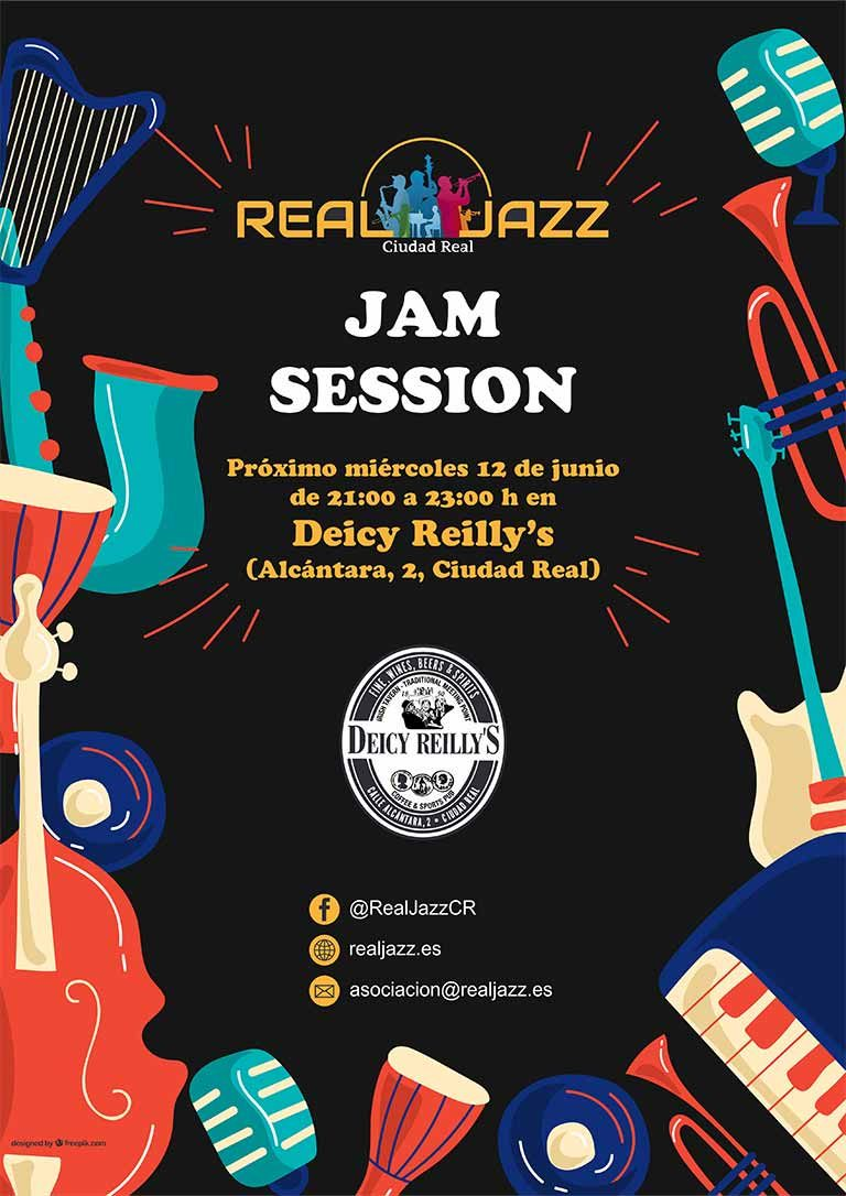 cartel jam session real jazz junio