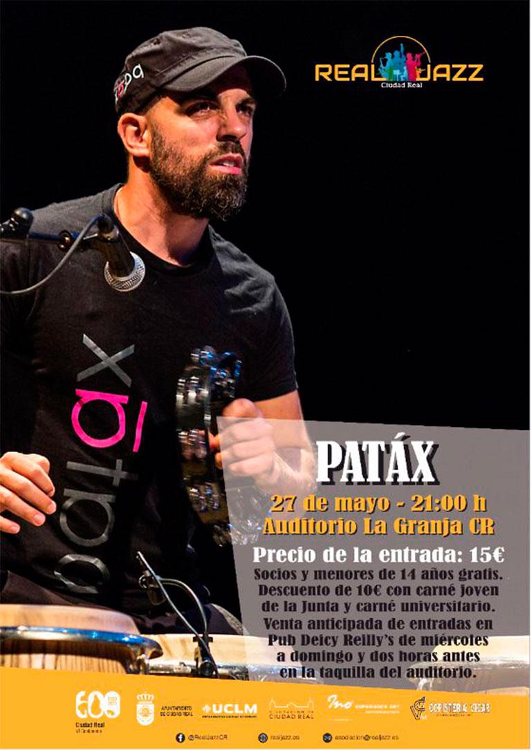 cartel concierto patax