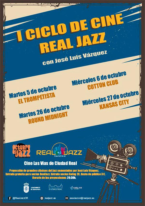 cartel ciclo de cine real jazz