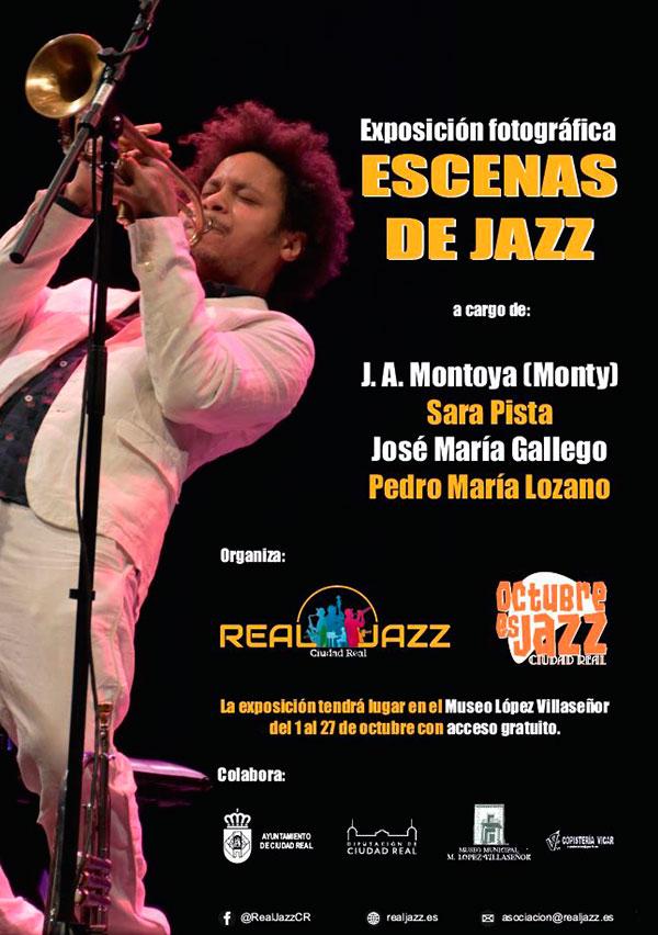 cartel expposicion fotografica real jazz