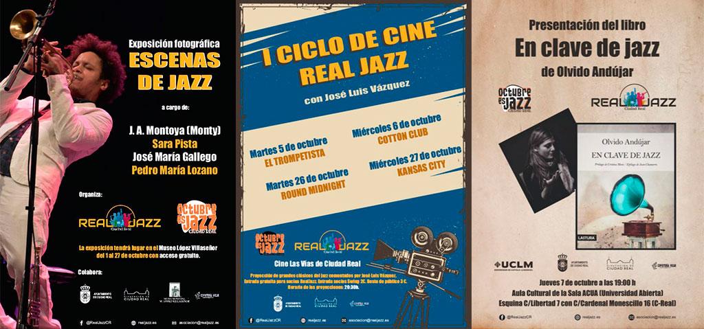 carteles octubre es jazz